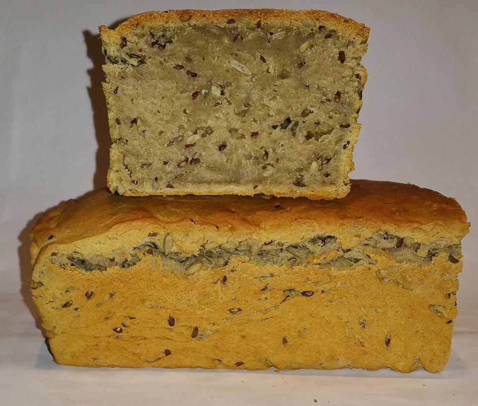 baka bröd med kornmjöl
